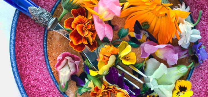 Cena in fiore