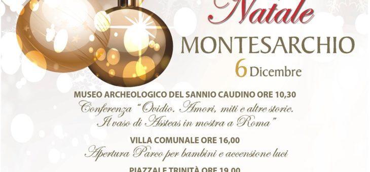 """""""Un Magico Natale a Montesarchio"""", giovedì 6 dicembre via al cartellone degli eventi"""
