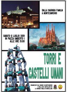 Torri e castelli umani @ Montesarchio