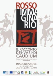 """Inaugurazione mostra """"Rosso Immaginario"""" @ Museo archeologico nazionale del Sannio Caudino"""