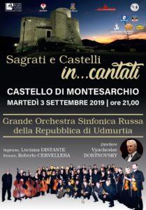Sagrati e Castelli in...cantati @ Castello di Montesarchio