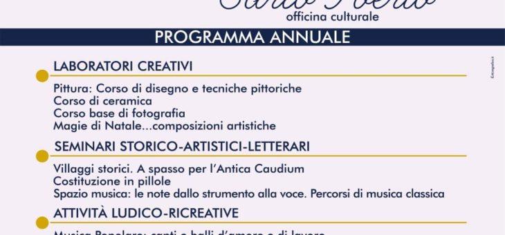 """Iscrizioni Accademia """"Carlo Poerio""""-Officina Culturale"""